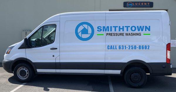 smithtown pressure washing van